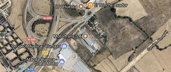 Foto satélite Alquivisa Huesca