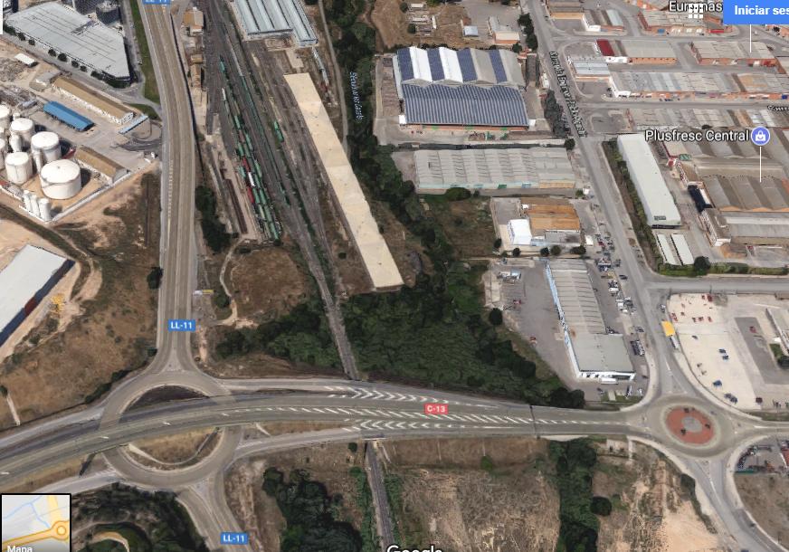 Foto satélite alquivisa Lleida